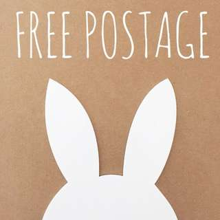 Free Postage for All Items This Week