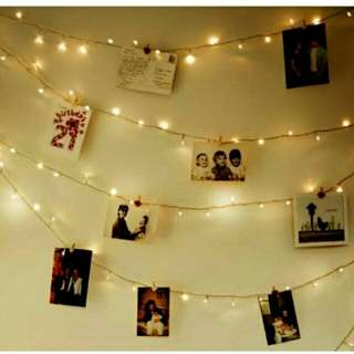 Dekorasi Kamar kafe kantin lampu HIAS frame Foto gantung kostan