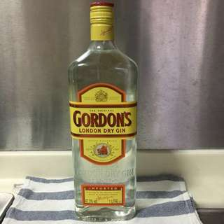 Brand New Gordon's Dry Gin 1L
