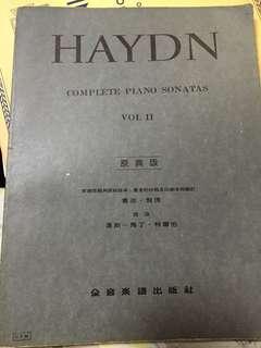 Haydn complete piano sonatas vol II