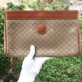 Celine Vintage Monogram Clutch Bag