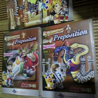 Use of Preposition 3CD's