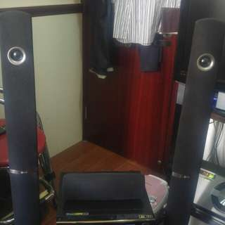 LG home theater system good condition