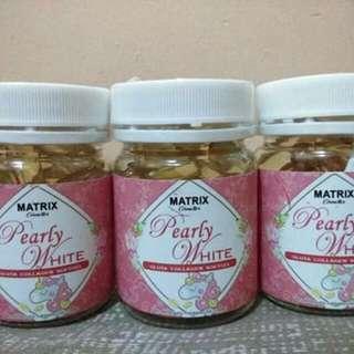 Matrix Pearly White Gluta Collagen Softgel