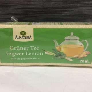 德國alnature 生薑檸檬 茶包
