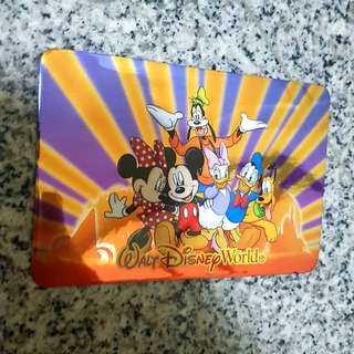 Magnetic Disney Mickey Postcard