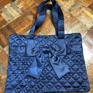 Naraya 寶藍色袋 Navy 蝴蝶袋