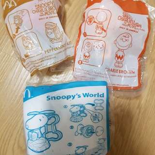 Snoopy World helicopter rolling stamper peppermint patty charlie brown