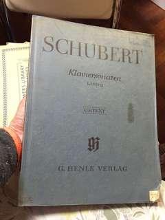 Schubert Klaviersonaten Band II