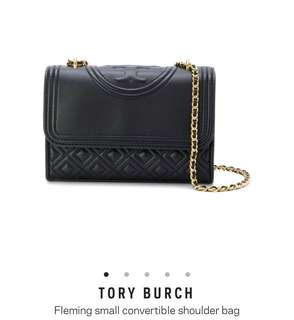 Tory Burch Fleming Small Convertible Shoulder Bag(歡迎代購其他顏色或袋款)