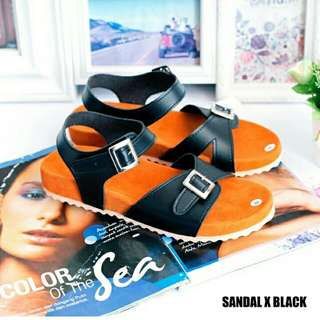 Sandal x black
