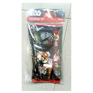 Star Wars stationary set