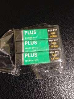 3 Eraser Non PVC safe & Secure