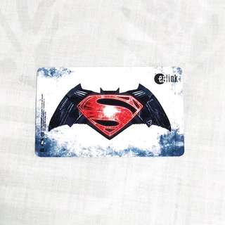 Superman Ezlink Card