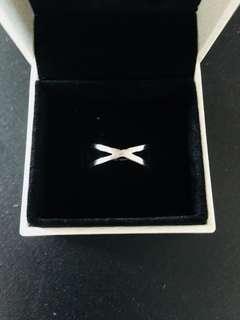 BN Paris Brushed Silver Ring