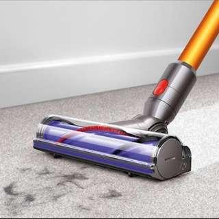 Dyson V8 碳纖維毛刷深層吸頭 (地毯吸頭) 全新