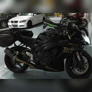 2009 Suzuki GSX-R600 K8
