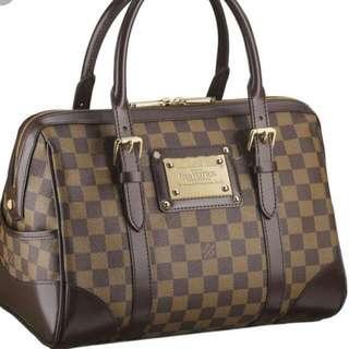 *Mark Down*Authentic Louis VuittonDamier Ebene Berkely Tote Bag