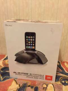 JBL ON STAGE IV USED iPhone Docking Speaker 蘋果底座喇叭
