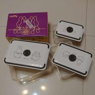 全新 Miffy 膠飯盒