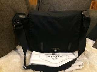 Authentic Prada Medium Messenger Bag With Dustbag