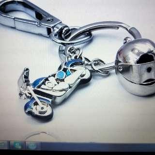 Key chain / Motorcycle key chain / Motorcycle & helmet design