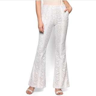 Zalia Lace Flare Pants