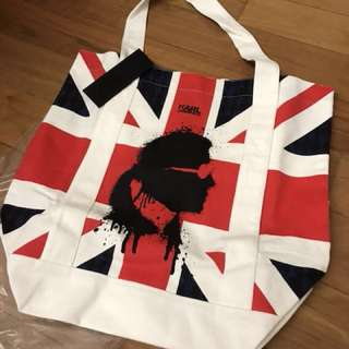 Authentic Karl Lagerfeld Canvas Tote bag