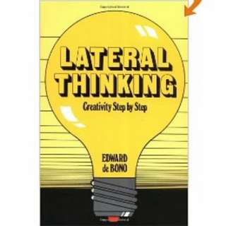 eBook - Lateral Thinking by Edward De Bono