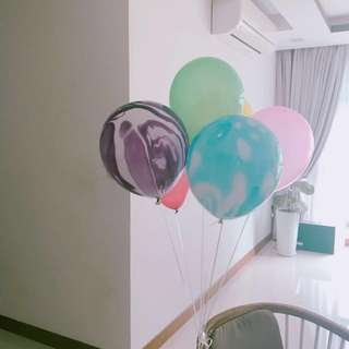 Marble balloons 🎈
