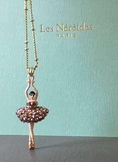 全新Les Nereides芭蕾女孩頸鍊
