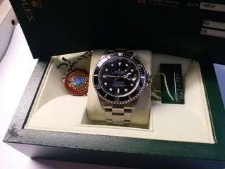Rolex 16610 Submariner Z頭卡