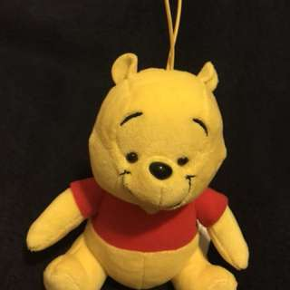 Winnie the Pooh 公仔吊飾