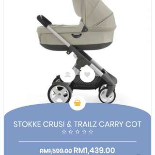 Stokke Crusi & Trailz Carry Cot