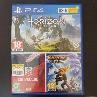 [PS4] Horizon Bundle 3 in 1