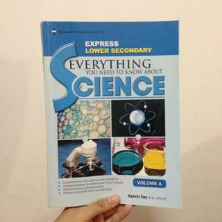 Lower Secondary Science Notes Book!