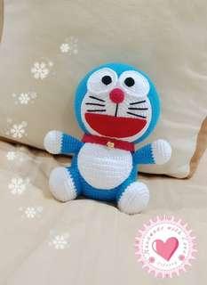 Customize Crochet Doraemon