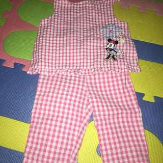 Pantulog mickey mouse set 1-2 years old