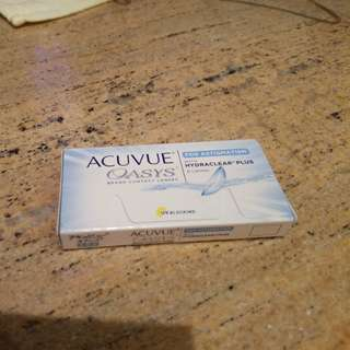 Acuvue one day 近視散光con
