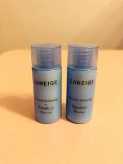 Laneige Essential Balancing Emulsion Moisture 15ml x 2