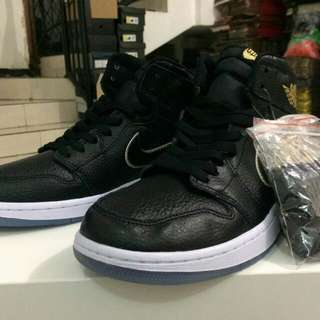 Ready Nike air jordan 1 high OG 'Black Gold' Ready 40-44