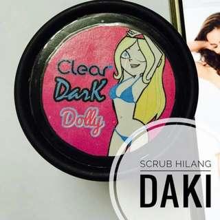 Clear dark dolly