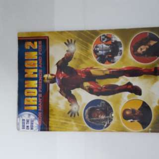 Iron man 2 book (based on the movie)