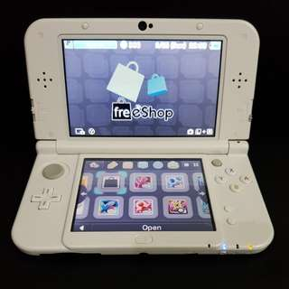 WTS : Modded New 3DS XL Pearl White with 64gb cheap