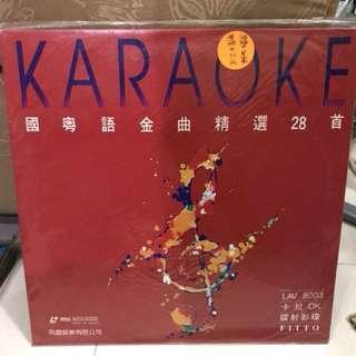 飛圖8003國粵語金曲LD卡拉OK影碟