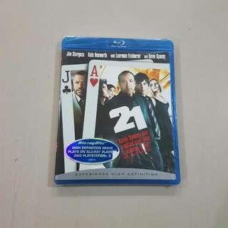 21, Blu-ray Disc *Brand New*