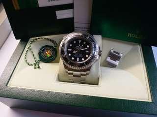 (Sold)Rolex 116660 Sea-Dweller DeepSea 亂碼卡