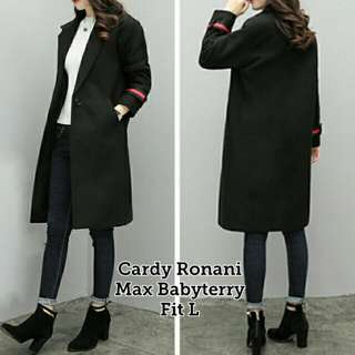Cardy Ronani Bahan babyterry fit to L