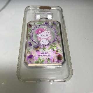 Iphone 7/ 8 case Marie pink ribbon disneyland
