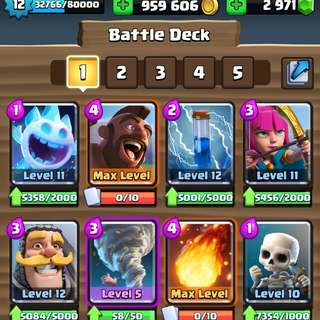 Clash Royale Account max hog